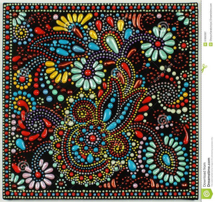 : Pintura do ponto da arte tradicional - Google Search