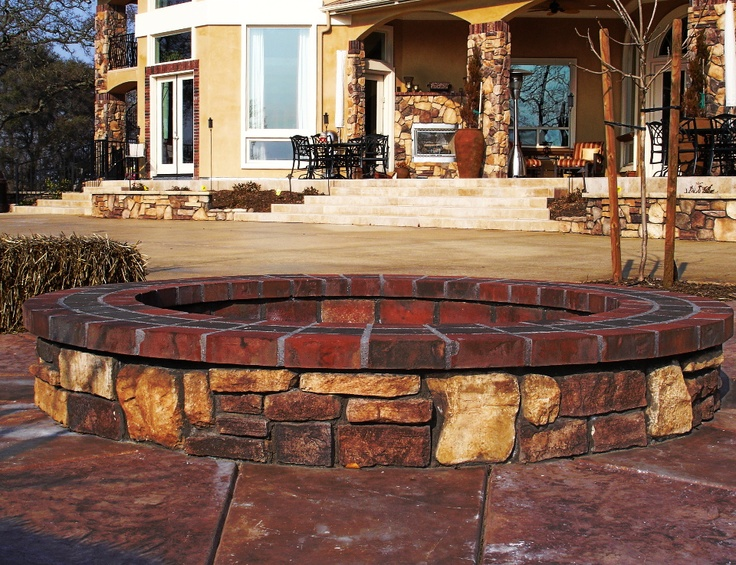 1000 Images About Diy Fire Pit On Pinterest Fire Pits Cheap Landscaping Ideas And To Build A