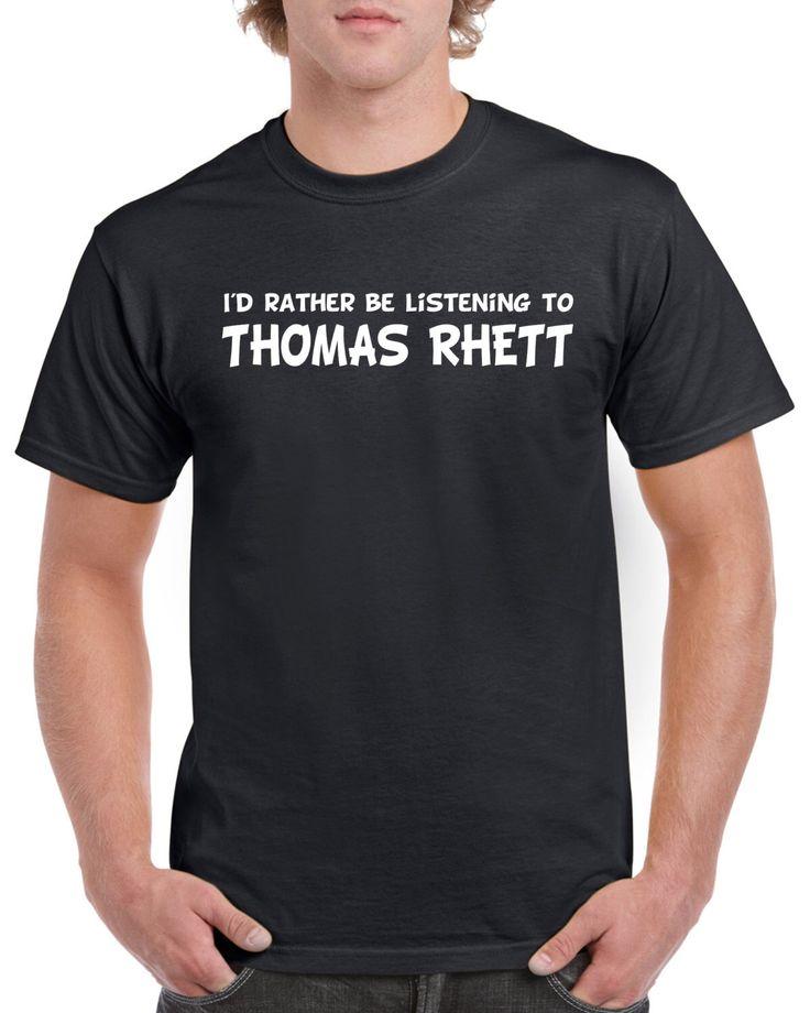 Thomas Rhett Shirt - Thomas Rhett Fan Shirt - Country Music T-Shirt - Thomas Rhett Shirt For Fans - Thomas Rhett Gift by toastertees on Etsy https://www.etsy.com/listing/467421296/thomas-rhett-shirt-thomas-rhett-fan