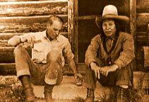 Double Arrow Resort History - Seeley Lake, Montana.  John Boissevain and Happy Ninepipe