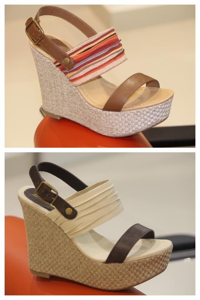 Beautiful wedges!