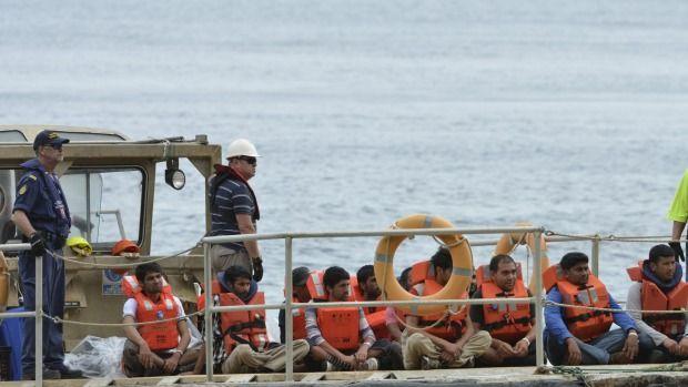 asylum seeker put in jail.