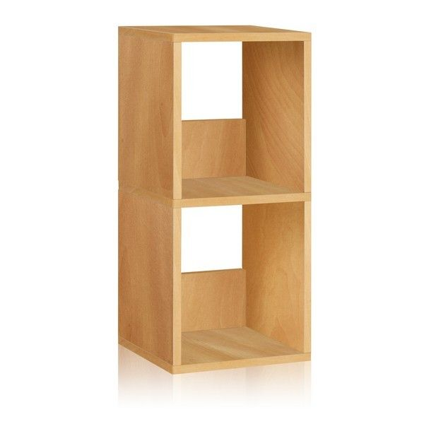 Short Narrow Bookcase 2 Shelf Narrow Bookshelf In White