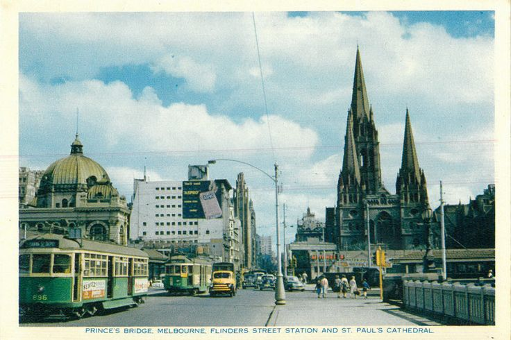 Postcard promoting Melbourne during the 1956 Olympics