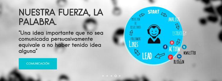 Nuestra fuerza, la palabra. | iMeelZ comunicación. Málaga. 2015.