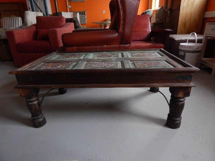 I recovered it, replaced horsehair with best foam, and desperately wanted to take it home.  Because of health, we are down grading.  Selling this very old sofa, in wonderful condition, plus more things.All these items, restored for myself.Indian Door Coffee Table =  R1,850Antique Wall Unit, copper detail  =    R1,400Vintage very comfortable chair =  R1,500Made in India bookcase/drinks cabinet with wrought Iron Detail =   R1,900Made in India Bookcase, Chalk Painted  =  R1,850Wingback…