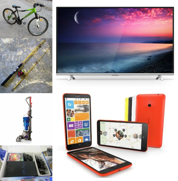 TVs, phones, kid's toys, golfing and fishing and MUCH MUCH MORE *Appliances, Electronics, Sporting and Leisure*