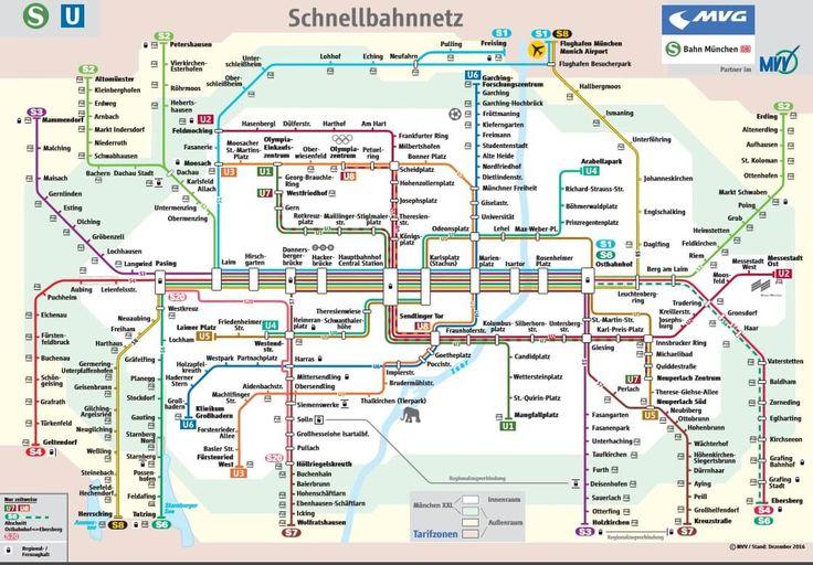 Transporte Público em Munique