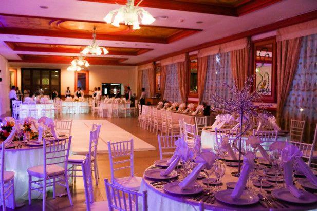 Modern Mexico destination wedding reception location: Excellence Playa Mujeres