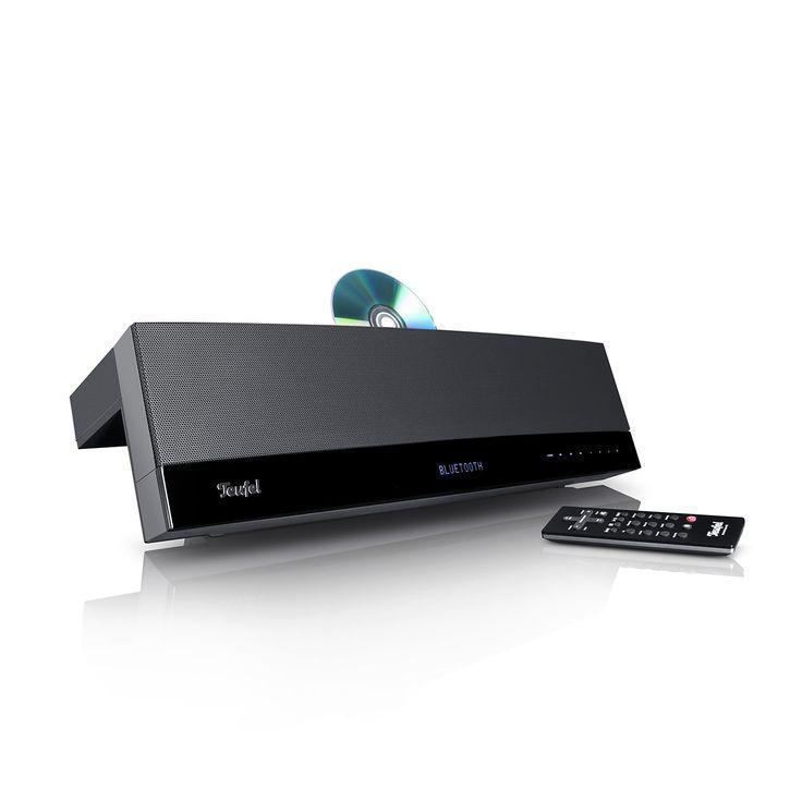 MusicStation jetzt kaufen! Spielfertige CD-/MP3-Komplettanlage der HiFi-Klasse mit stärkstem Bass ihrer Klasse ✔ Bluetooth 3.0 für einfache, kabellose & hochwertige Übertragung von Musik! CD-Laufwerk mit MP3-Funktion, FM-RDS-Radio, USB- und analoger Klinkeneingang