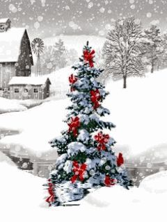 Christmas snow gif - check out my board for lots more! Follow me and pin all you want :)))