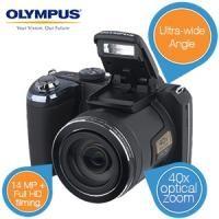 """Olympus """"Bridge""""-camera met extra grote groothoeklens"""
