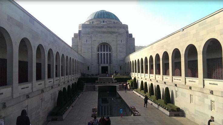 The war memorial in Canberra.