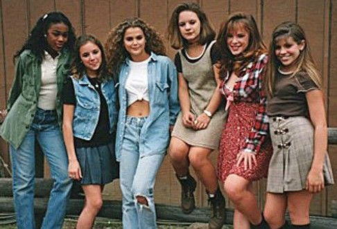 During the 1990s, women's fashion became more scandalous and shorter. Skirts and shirts shortened, bellies were shown much more often and clothes were tighter. (Allison T.)
