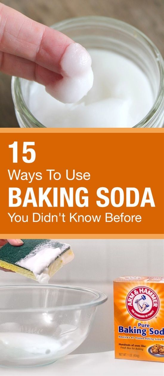 15 Ways To Use Baking Soda You Didn 39 T Know Before Baking