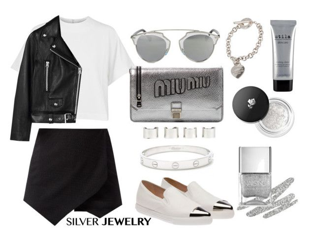 """Love to the Silver"" by eirini-kastrou on Polyvore"