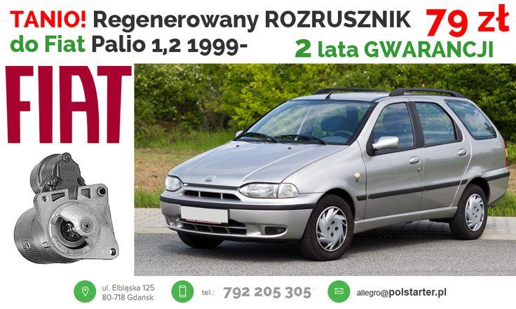⚫ NAJTAŃSZY NA ALLEGRO! Tylko 79 ZŁ! Regenerowany rozrusznik do samochodów marki Fiat! ⚫ Nasze pozostałe aukcje w serwisie allegro:  ➜ http://allegro.pl/listing/user/listing.php?us_id=26261890&order=m ➜ http://allegro.pl/listing/user/listing.php?us_id=22287661&order=m ⚫ Odwiedź naszą stronę i sklep internetowy: ➜ www.polstarter.pl ➜ www.sklep.polstarter.pl ⚫ KONTAKT: 792 205 305 allegro@polstarter.pl #rozrusznik #rozruszniki #alternator #alternatory #częścisamochodowe #Palio #FiatPunto…
