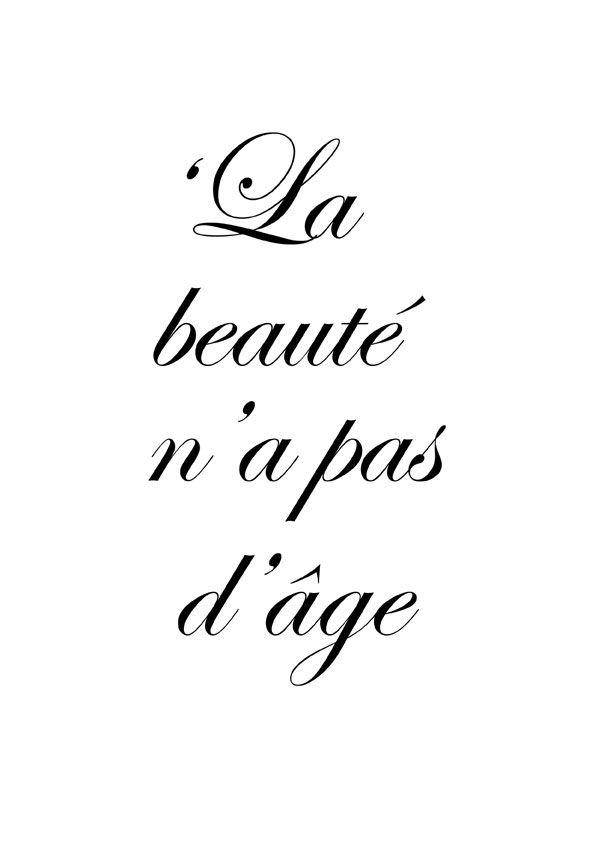 'Beauty has no age'