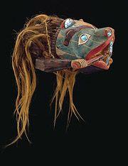 Beaver Mask ~   The Northwest Coastal People - Religion / Ceremonies / Art / Clothing