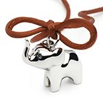 So why not send a bit of good luck to Africa by purchasing one of the small elephant pendants?