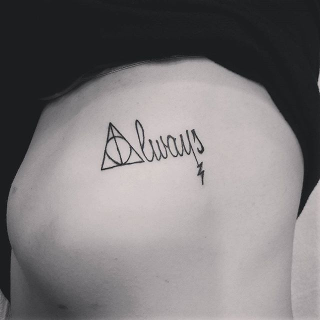 25 Best Ideas About Always Tattoo On Pinterest Always Harry Potter Tattoo Harry Potter
