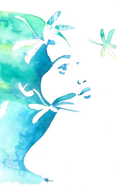 dragonflies | Sara Ligari #illustration | saraligari.it/