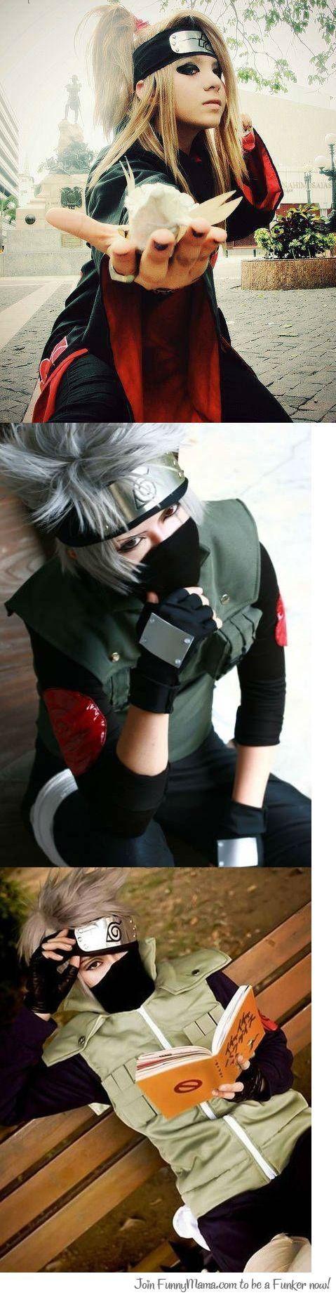 Deidara Kakashi #cosplay #otaku