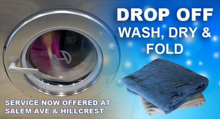 We are the leading coin operated laundromat near you in Hagerstown MD. Our extra laundry services include drop off service and wash, dry & fold.
