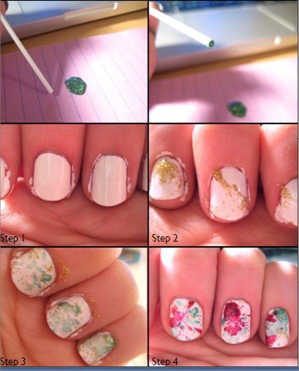 Christmas Nail Designs Tutorial: 8 Best Christmas Nails Design Tutorial Images On Pinterest
