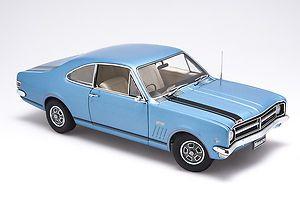 1:18 Biante Holden HK GTS 327 Monaro 1968 Bright Blue Metallic A72445