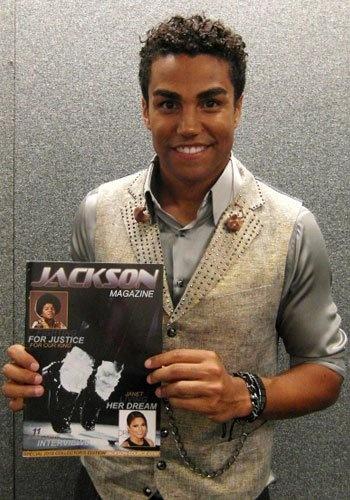 TJ Jackson (3T) and Jackson Magazine 2010 edition