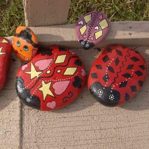 Les 2365 meilleures id es de la cat gorie lady bugs i like Coccinelle decoration exterieure