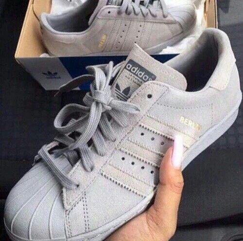 adidas superstar grise berlin femme