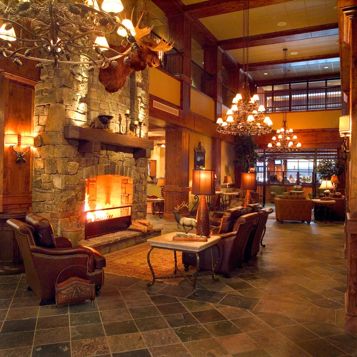 The Lodge @ Whitefish Lake  Montana.  Best hotel ever!  Hands down.