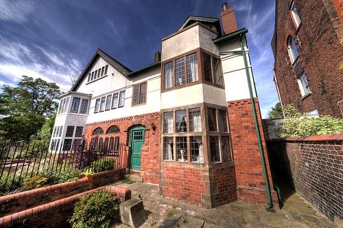 Redcroft and Fencegate.  Edgar Wood lived at Redcroft