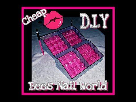 D.I.Y Cheap Vanity Lipstick Organizer