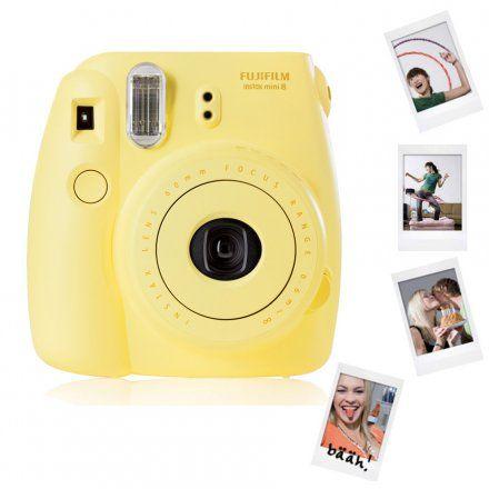 Fujifilm Sofortbildkamera Instax Mini 8 gelb