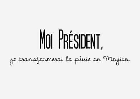 Moi, Président ...