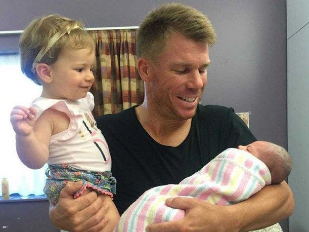 Yes! That's true Australia opener, David Warner and his wife Candice have become parents for the second time. David Warner becomes the daddy of a little angel.