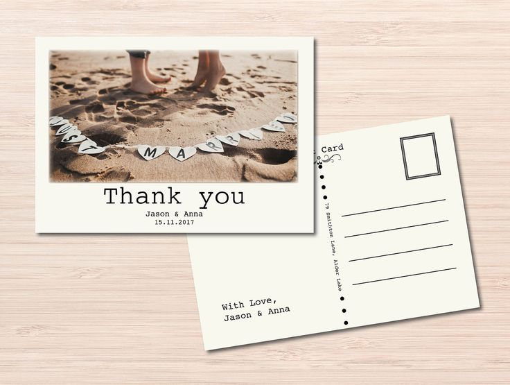 17 Best ideas about Wedding Postcard – Wedding Postcard