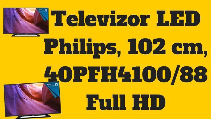 Televizor LED Philips 40PFH4100/88 - Philips 40PFH4100/88 Full HD