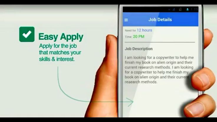 Pretty nice Qikly_A local job search app for Android Check more at - copywriter job description