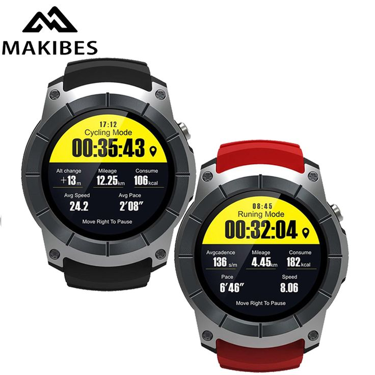 GPS Sports Smart Watch Reloj
