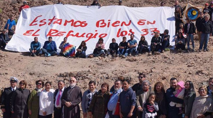 Conmemoración 33 mineros de San José / Foto: Obispado de Copiapó
