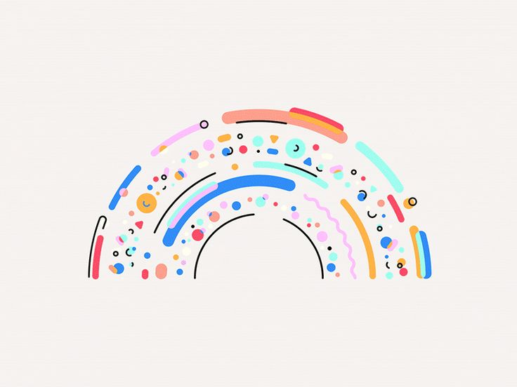 Dribbble - Blend Manifesto - Rainbow - via #designhunt