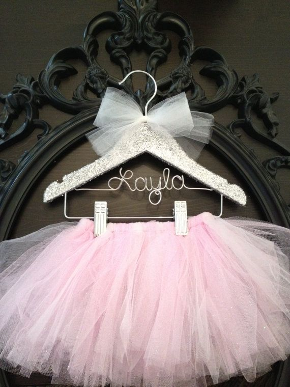 Tutu Tutu Hanger Tutu Display Kids Hanger Flower Girl by GetHungUp, $32.00