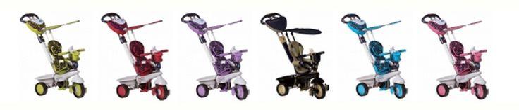 ¿Cuál es vuestro color favorito para el SmarTrike Dream? :)  para más información sobre este modelo: http://www.smart-trike.es/products/dream-4-en-1-triciclo-cochecito-para-bebes-ninos/