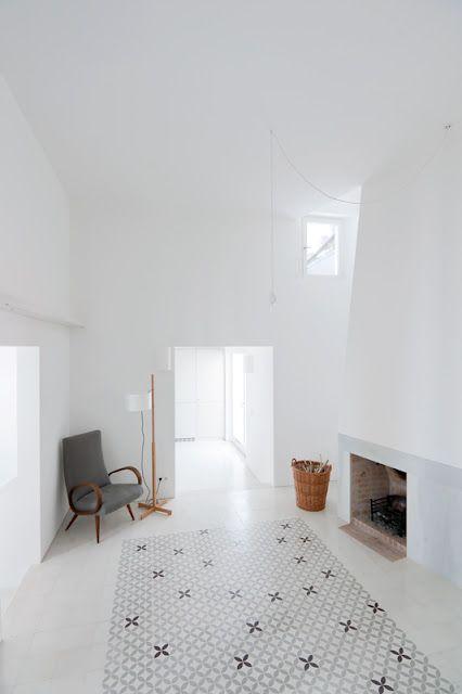 casa voltes. amazing interiors!   sergison bates + liebman villavechia, 2012