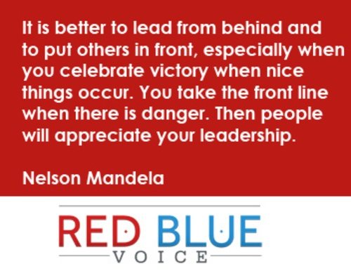 Leadership quote by Nelson Mandela