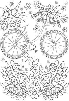 Easy Coloring Page Perfect For Alzheimer S And Dementia